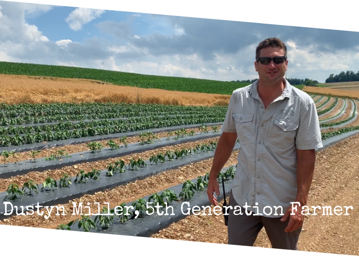 Dustyn Miller 4th Generation Farmer