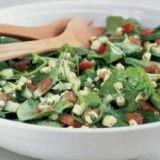 Spinach, Tomato, and Corn Salad